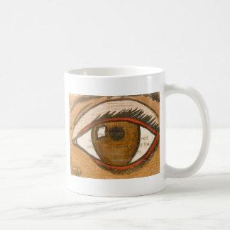 El ojo humano taza clásica