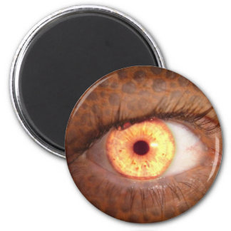 El ojo imán redondo 5 cm