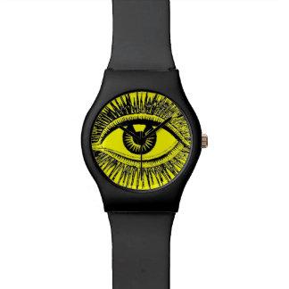 El ojo le ve calcular visualmente al médico de hos relojes