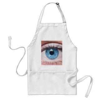 El ojo le ve delantal