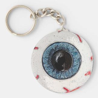 El ojo le ve llavero redondo tipo pin