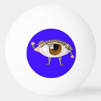 El ojo le ve pelota de tenis de mesa