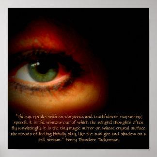El ojo impresiones