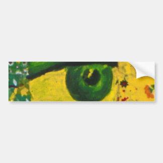 El ojo - pegatina para el parachoques de la concie pegatina de parachoque