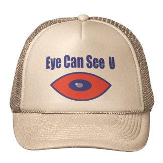 El ojo puede ver el U. Gorras