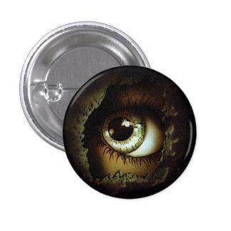 El ojo puede verle pin redondo de 1 pulgada