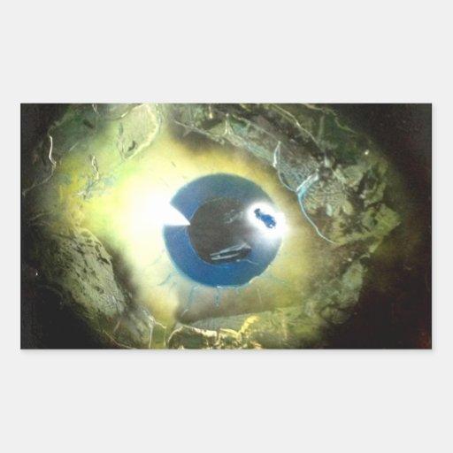 El ojo rectangular altavoz