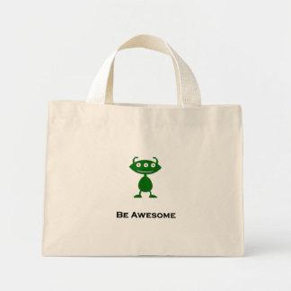 El ojo triple sea verde impresionante bolsas