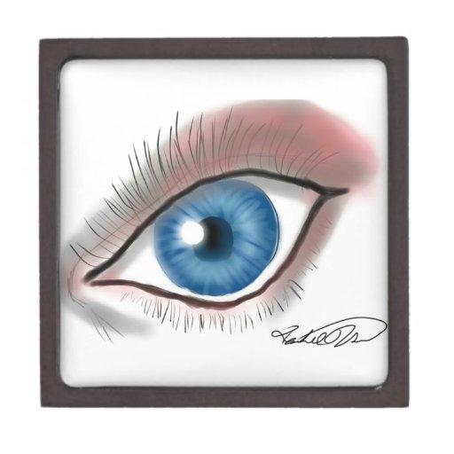 ¡El ojo ve! Caja De Regalo De Calidad