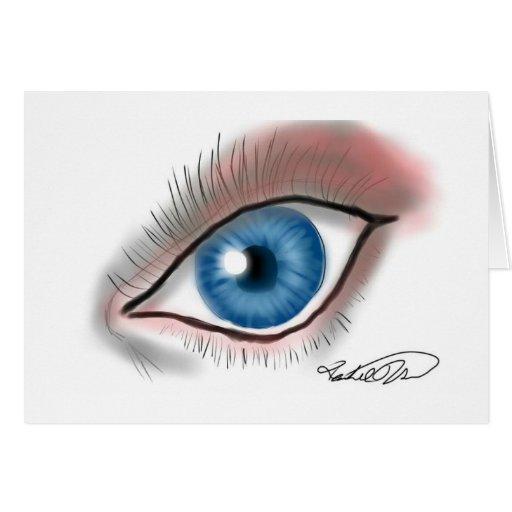 ¡El ojo ve! Felicitación