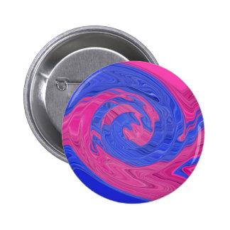 El ojo ve rosa y el azul chapa redonda 5 cm