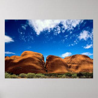 El Olgas, parque nacional de Uluru, Territorio del Póster