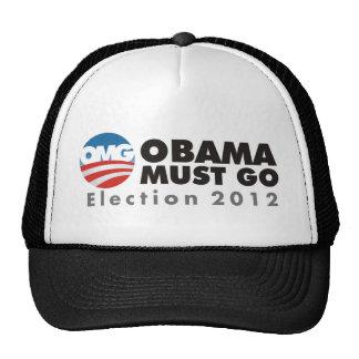el omg obama debe ir 2012 gorra