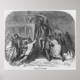 El omnibus del Bastille Póster