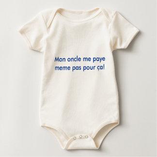 ¡El oncle de lunes yo pas del meme del paye vierte Mameluco De Bebé