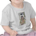El Onobu virginal del ya Ukiyo de Nikenjaya Fuji Camisetas