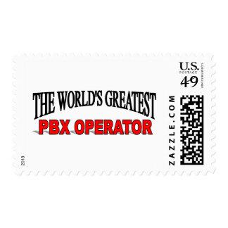El operador más grande del PBX del mundo Sello