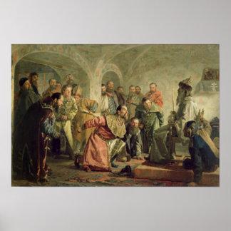 El Oprichnina en la corte de Ivan IV Poster