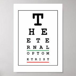 El optometrista eterno póster