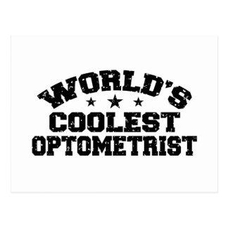 El optometrista más fresco del mundo postal