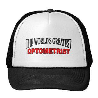 El optometrista más grande del mundo gorras de camionero