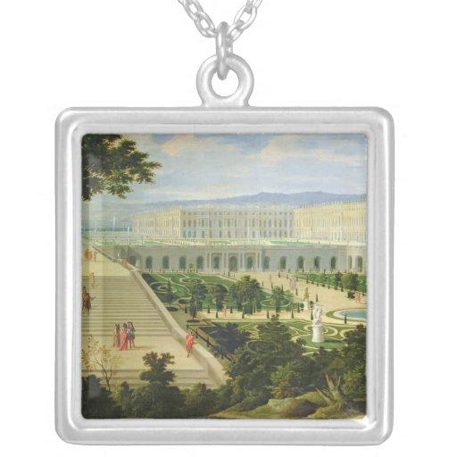 El Orangerie en el castillo francés de Versalles Colgante Cuadrado