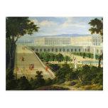 El Orangerie en el castillo francés de Versalles Tarjeta Postal