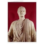 El Orating del Sulla de Lucius Cornelio Tarjeta De Felicitación