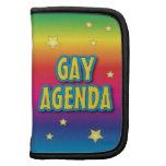 El orden del día gay planificadores