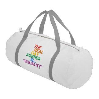 EL ORDEN DEL DÍA GAY REAL BOLSA DE DEPORTE