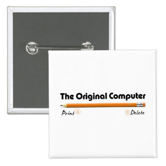 El ordenador original pin cuadrado