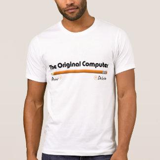 El ordenador original camiseta