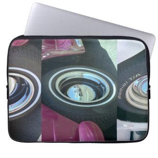El ordenador portátil reflector del neopreno de la mangas computadora