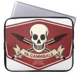El ordenador portátil Sleve de los caníbales del f Fundas Portátiles