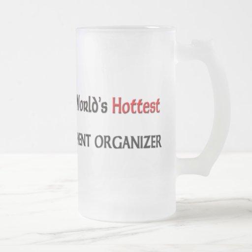 El organizador más caliente del acontecimiento de taza de cristal