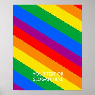 El orgullo de GLBT raya 2 Poster