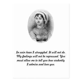 El orgullo de Jane Austen Postales