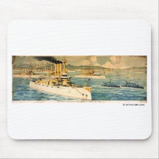 El orgullo del Pacífico en el puerto de San Franci Tapete De Ratones