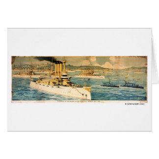 El orgullo del Pacífico en el puerto de San Tarjeta De Felicitación