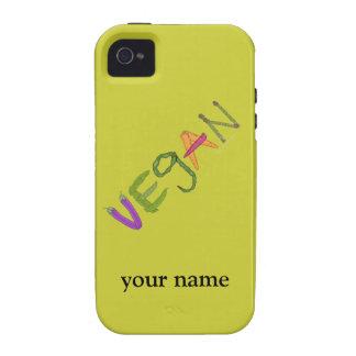 El orgullo del vegano de los Veggies personalizó Case-Mate iPhone 4 Funda