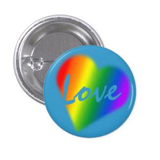 El orgullo gay abotona los botones del mismo sexo  pin redondo de 1 pulgada
