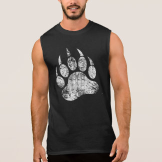 ¡El orgullo gay del oso apenó la pata de oso CALIE Camiseta Sin Mangas