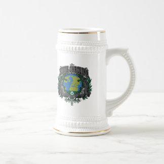 El orgullo recicla Carolina del Sur Jarra De Cerveza