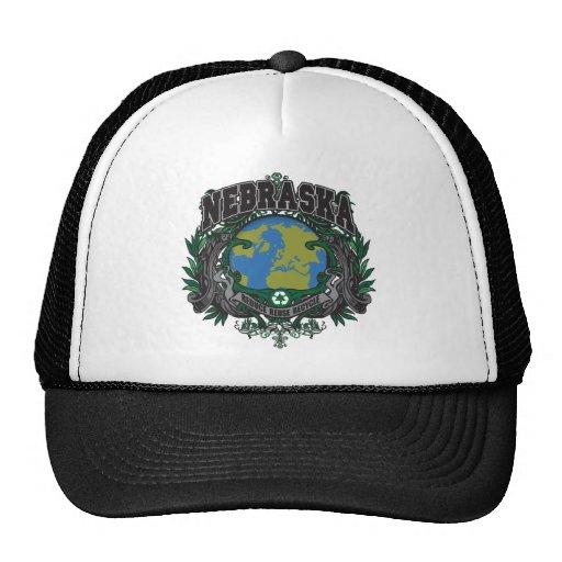 El orgullo recicla Nebraska Gorra