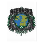 El orgullo recicla Nebraska Postal