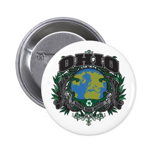 El orgullo recicla Ohio Pins