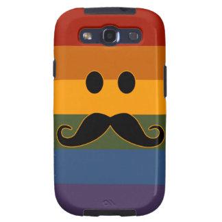 El orgullo Samsung de encargo del bigote encajona Funda Para Galaxy S3