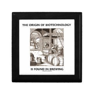 El origen de la biotecnología se encuentra en la e cajas de joyas