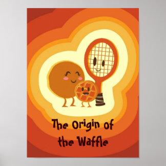 El origen de la galleta póster