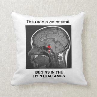 El origen del deseo comienza en el hipotálamo almohada